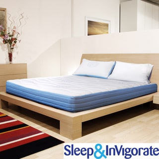 Sleep & Invigorate 10-inch Full-size Latex and Foam Mattress