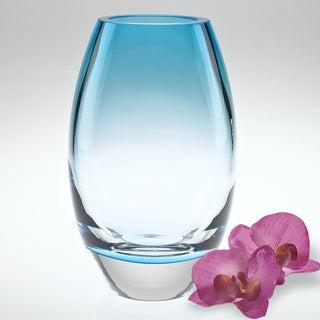 Radiant Aqua 9-inch Vase