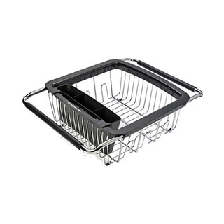 KitchenAid Black 3-in-1 Dish Rack