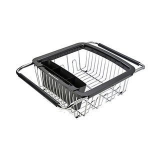 KitchenAid Black 3-in-1 Dish Rack