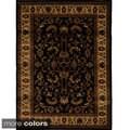 Majestic Tabriz Multicolored Oriental Motif Area Rug (7'8 x 10'4)