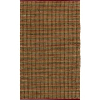 Nature's Elements Fire/Crimson Rug (5' x 8')