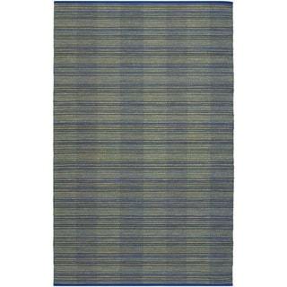 Nature's Elements Water/Ocean Blue Rug (5' x 8')