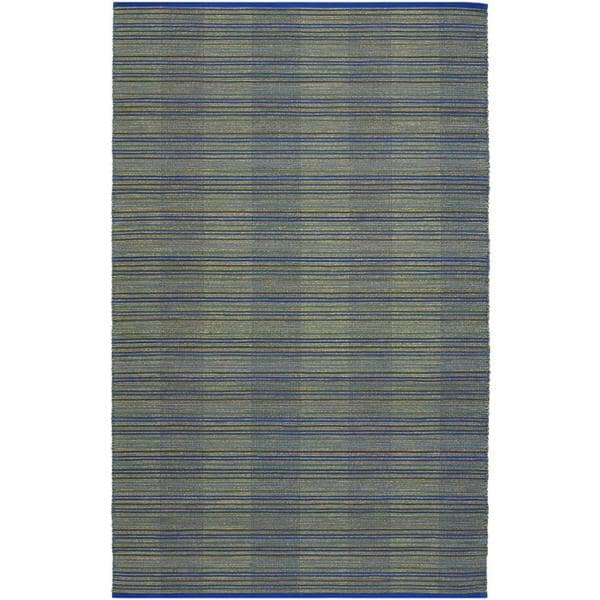 Natures Elements Water Ocean Blue Rug (6' x 9')