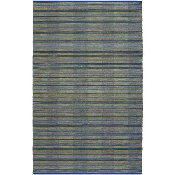 Natures Elements Water Ocean Blue Rug (7'10 x 10'10)