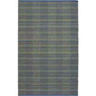 Natures Elements Water Ocean Blue Rug (7'10 x 10'10)