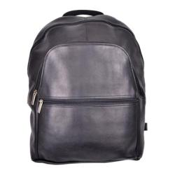 Royce Leather Vaquetta 15in Laptop Backpack Black