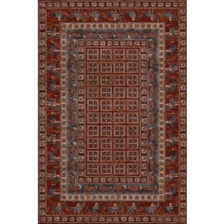 Old World Classics Pazyrk Antique Red Rug (6'6 x 9'10)