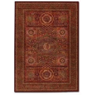 Old World Classics Mamluken Burgundy Rug (6'6 x 9'10)