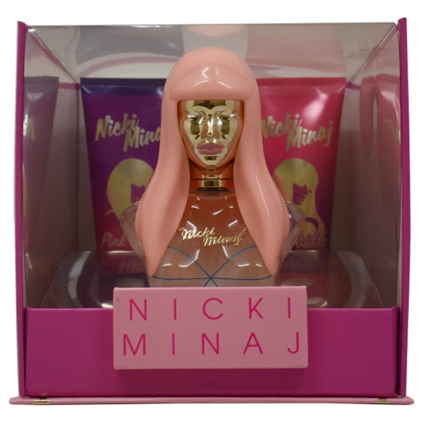 Nicki Minaj Pink Friday 3-piece Fragrance Git Set