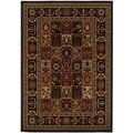 Royal Kashimar Antique Nain Black Rug (5'3 x 7'6)