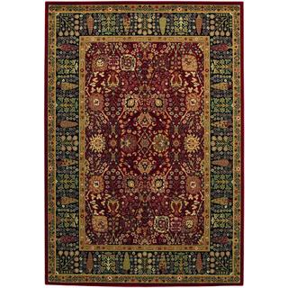 Royal Kashimar Cypress Garden Persian Red Rug (6'6 x 9'10)