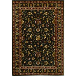 Royal Luxury Brentwood Ebony Wool Rug (6'6 x 9'10)