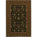 Royal Luxury Brentwood Ebony Wool Rug (6'6 x 9'10)