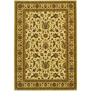 Royal Luxury Brentwood Linen Beige Wool Rug (7'10 x 11'1)