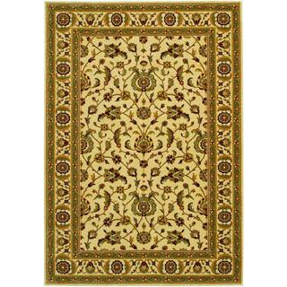 Royal Luxury Brentwood Linen Beige Wool Rug (7'10 x 11'1)