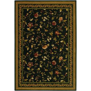 Royal Luxury Winslow Ebony Wool Rug (7'10 x 11'1)