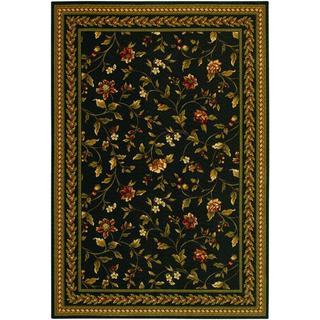 Royal Luxury Winslow Ebony Wool Rug (7'10 x 11'1)