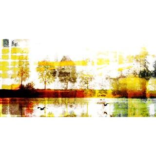 'Biscarrosse Lake' Canvas Print