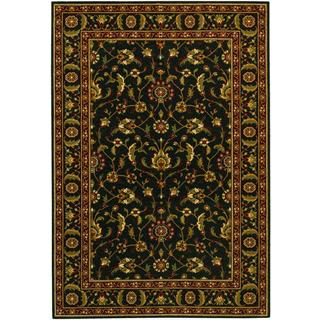 Royal Luxury Brentwood Ebony Wool Rug (7'10 x 11'1)