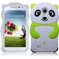 BasAcc Neon Green Panda Silicon Case for Samsung Galaxy S4 i9500