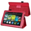 BasAcc Red Stand Leather Case for Amazon Kindle Fire HD 7-inch