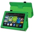 BasAcc Green Stand Leather Case for Amazon Kindle Fire HD 7-inch