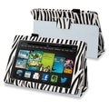 BasAcc Black Zebra Stand Leather Case for Amazon Kindle Fire HD 7-inch