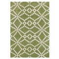 Alliyah Lime Green Handmade New Zealand Blended Wool Rug (9 x 12)
