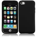 BasAcc Black Silicone Case for Apple iPhone 5