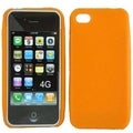 BasAcc Orange Silicone Case for Apple iPhone 4G/ 4GS