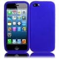 BasAcc Blue Silicone Case for Apple iPhone 5