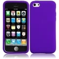 BasAcc Purple Silicone Case for Apple iPhone 5C