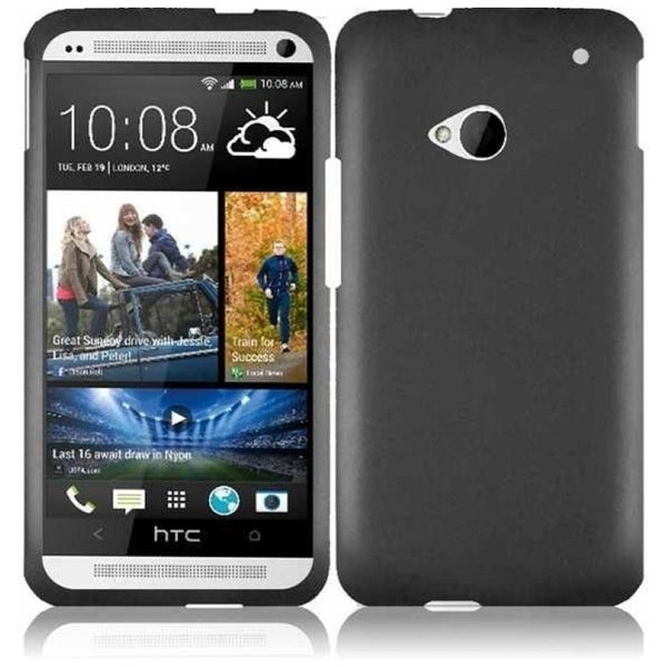 INSTEN Grey Phone Case Cover for HTC One M7