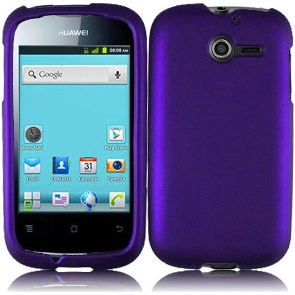 INSTEN Purple Phone Case Cover for Huawei Ascend Y M866