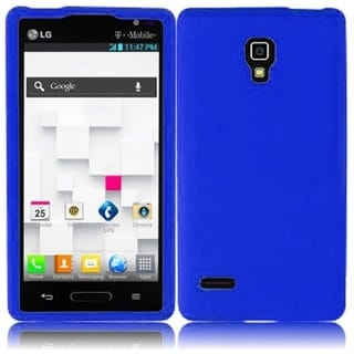 BasAcc Blue Silicone Case for LG Optimus L9 P769T