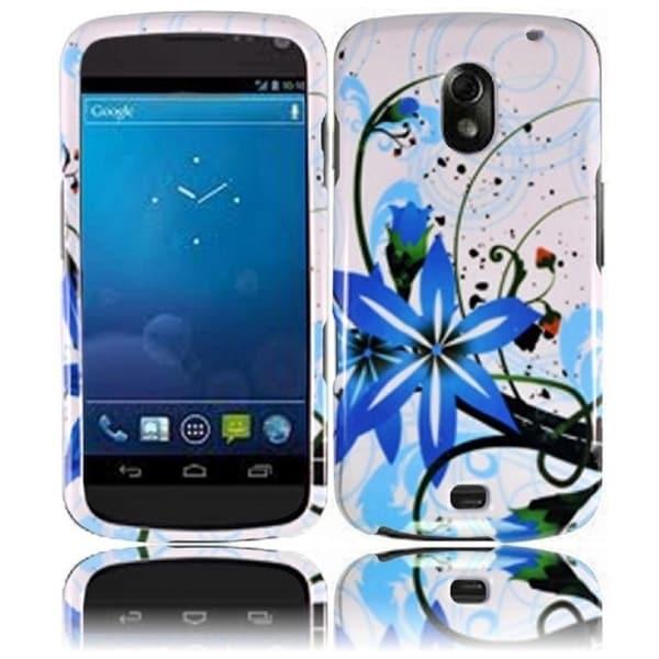 BasAcc Blue Splash Case for Samsung i515 Galaxy Nexus