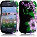 BasAcc Green Flower Case for Samsung Galaxy Centura S738C/ S730G