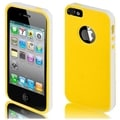 BasAcc White/ Yellow TPU Case for Apple iPhone 5/ 5S