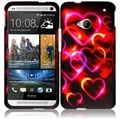 BasAcc Colorful Hearts Case for HTC One M7