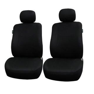 FH Group Black Airbag Compatible Front Bucket Covers (Set of 2)
