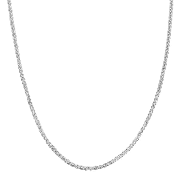 Fremada Sterling Silver 1.1-mm Round Wheat Chain (16 - 30 inch)