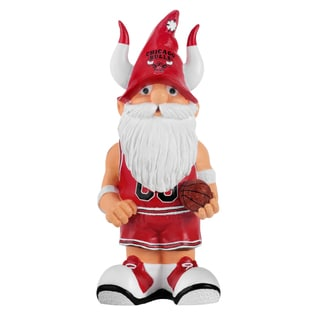 Forever Collectibles NBA Chicago Bulls 11-inch Thematic Garden Gnome