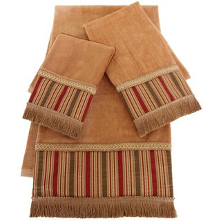 Austin Horn Classics Botticelli Embellished 3-piece Towel Set