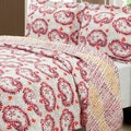'Chalet' 3-piece Reversible Cotton Quilt Set