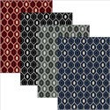 'Ashley' Contemporary Geometric Area Rug (3'3 x 4'11)