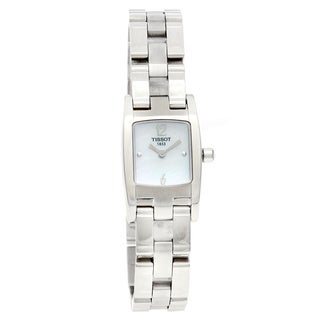 Tissot Women's 'T-Trend T3' Mother-of-Pearl Watch