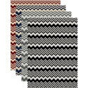 'Ashley' Chevron Contemporary Area Rug (5'5 x 7'7)