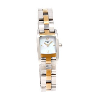 Tissot Women's 'T-Trend T3' Two-Tone Stainless Steel Watch