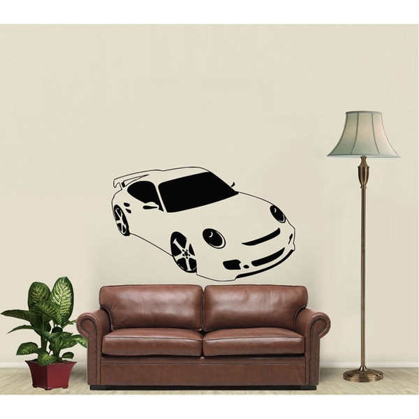 Porsche Vinyl Wall Decal